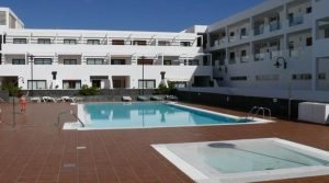 2 bedroom apartment with views in Costa Teguise