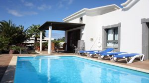 Villa bonita en Playa Blanca