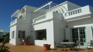 Elegant villa above harbour in Puerto del Carmen